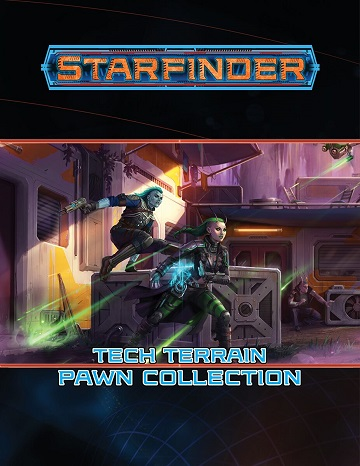 Paizo - Starfinder Pawns: Tech Terrain Pawn Collection #PZO7412