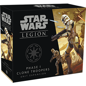 Stars Wars Legion: Phase I Clone Troopers