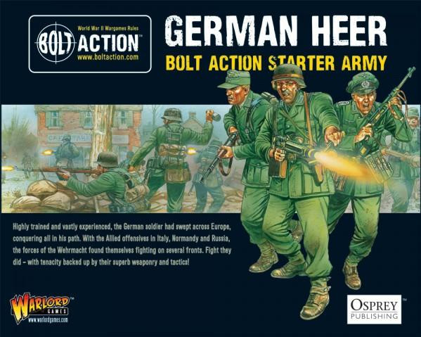 Bolt Action: German: Starter Army