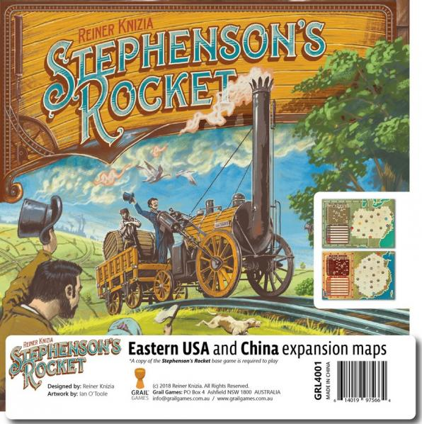 Stephensons Rocket: Eastern USA & China Expansion