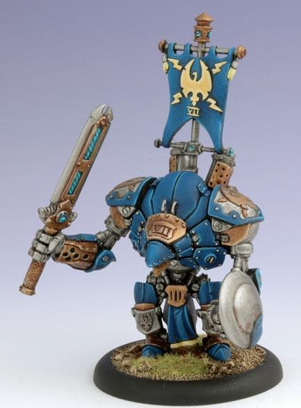 Warmachine: Cygnar (31022): Stormclad Heavy Warjack Box Set