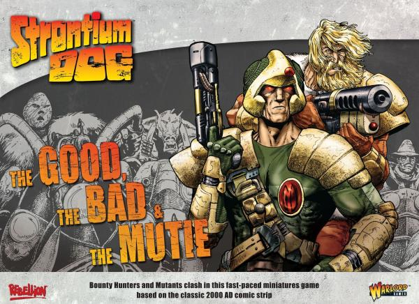 Strontium Dog: The Good, The Bad & The Mutie