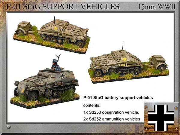 Forged in Battle: German: StuG Battery Support Vehicles