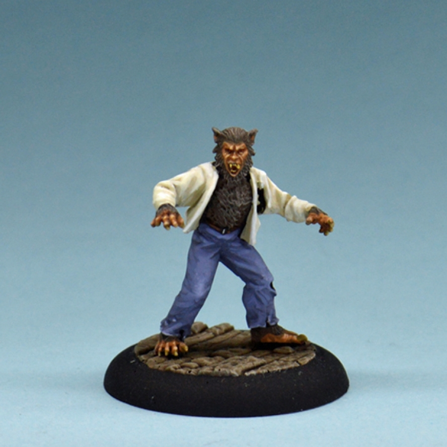 Studio Miniatures: Horror Characters- The Wolfman