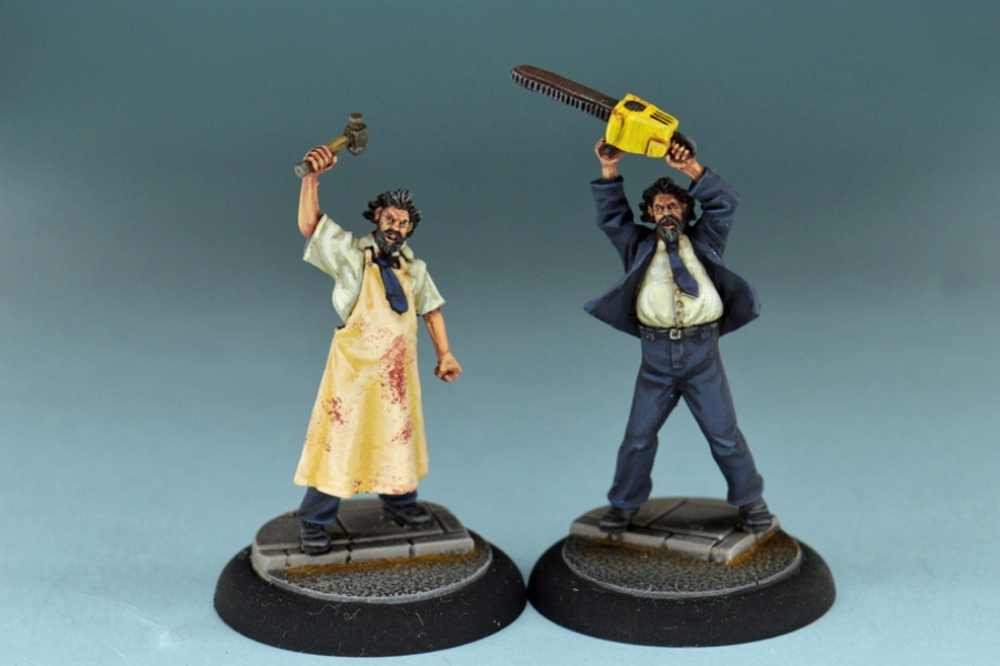 Studio Miniatures: Horror Characters- The Butcher Brothers Unmasked