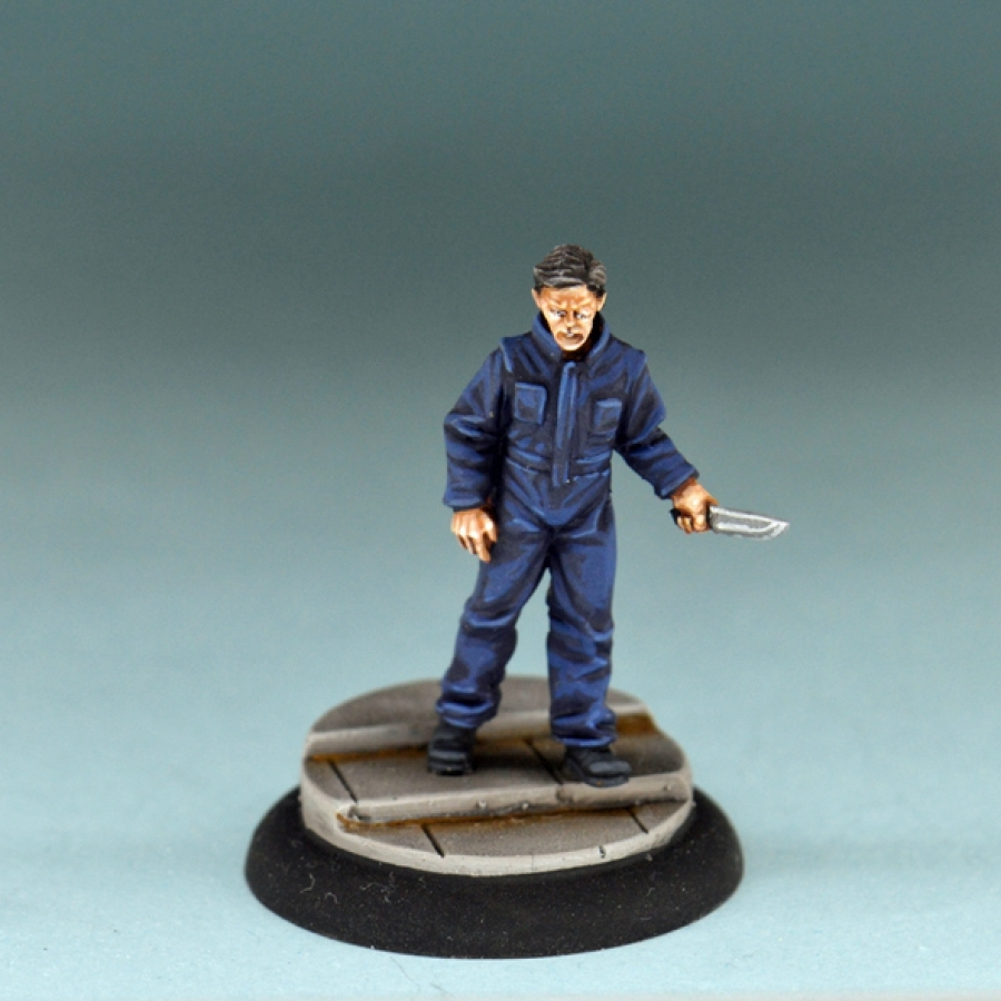 Studio Miniatures: Horror Characters- The Killer Unmasked