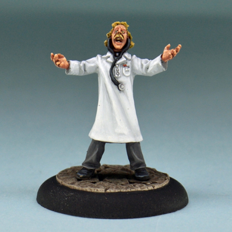 Studio Miniatures: Horror Characters- The Scientist