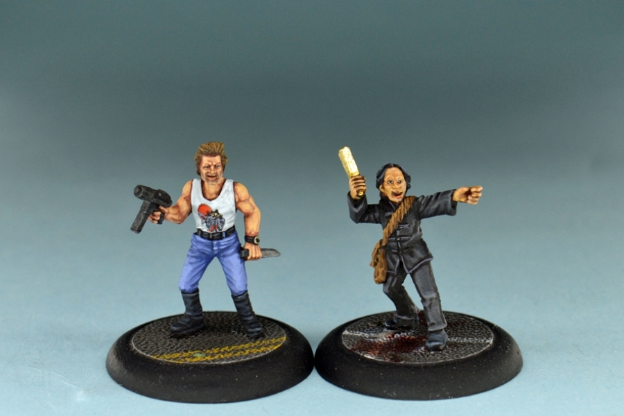 Studio Miniatures: Survivors: Burt & Fu