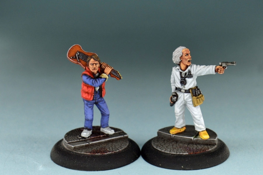 Studio Miniatures: Survivors: Jay & The Professor