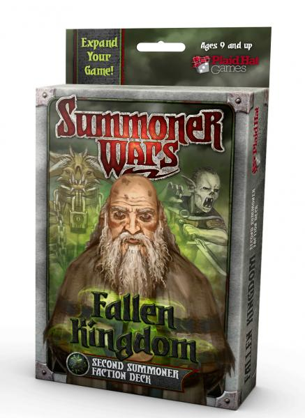 Summoner Wars: Fallen Kingdom Second Summoner Faction Deck