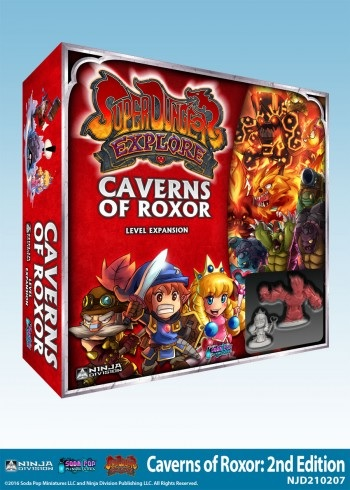 Super Dungeon Explore: Caverns of Roxor (2nd Edition)