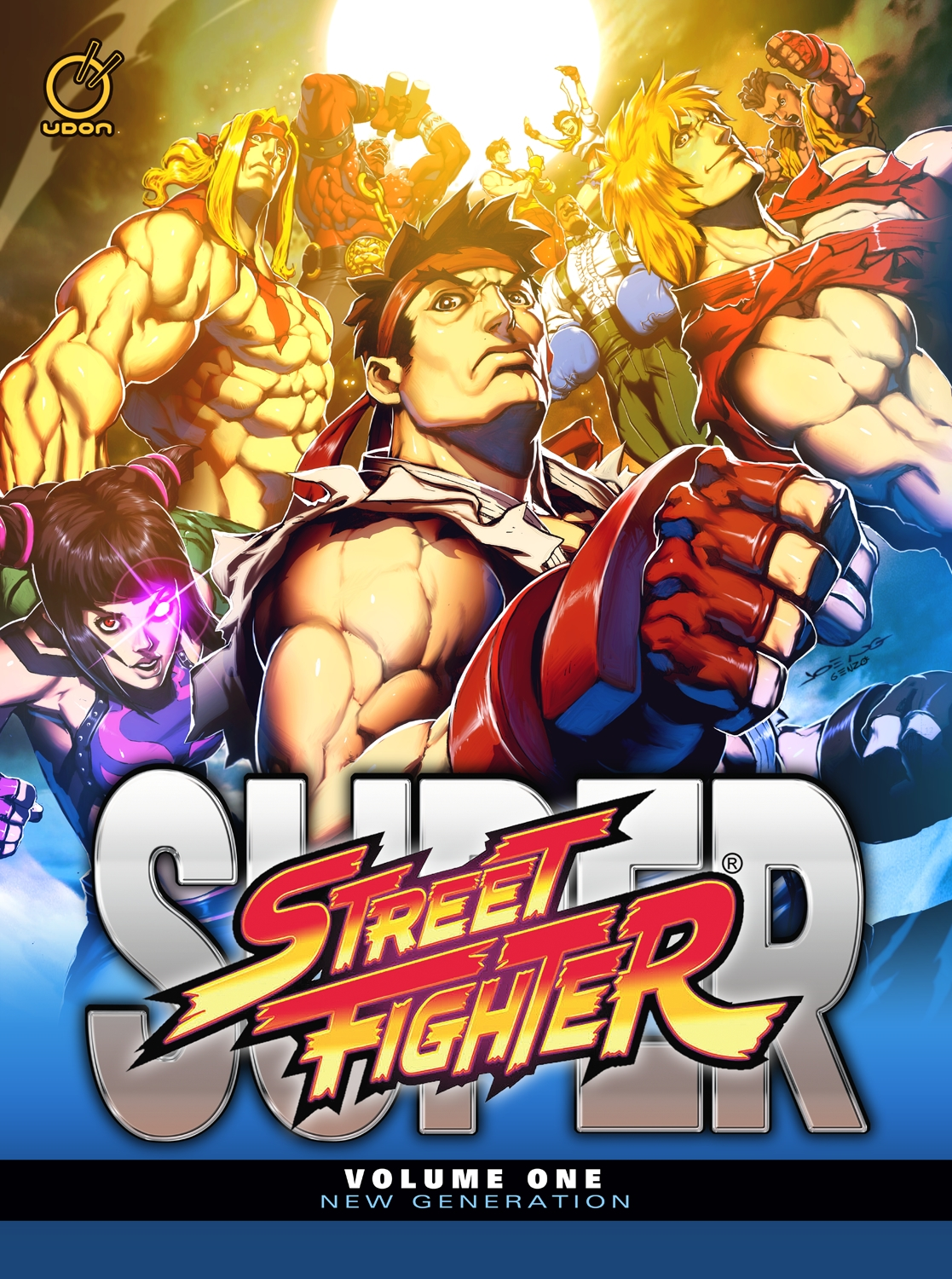 Super Street Fighter Volume One- New Generation