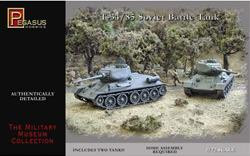 Pegasus Hobbies WWII 1/72: T-34/85 Soviet Battle Tank