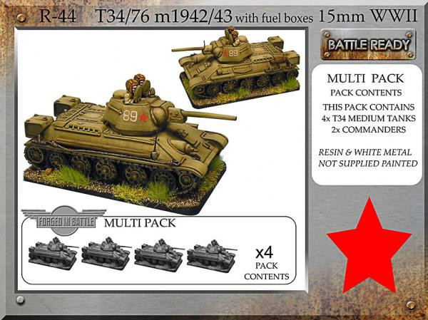 Forged in Battle: Russian: T-34/76 m42/43 (fuel boxes)