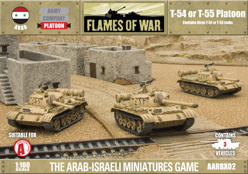 Fate of a Nation: Arab: T-54 or T-55 Platoon
