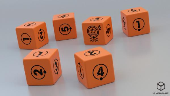 TALES FROM THE LOOP: Dice Set