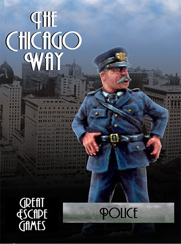 THE CHICAGO WAY: POLICE BOXED GANG SET