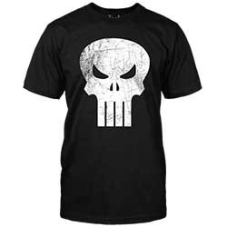 T-Shirts: Punisher Logo: Large