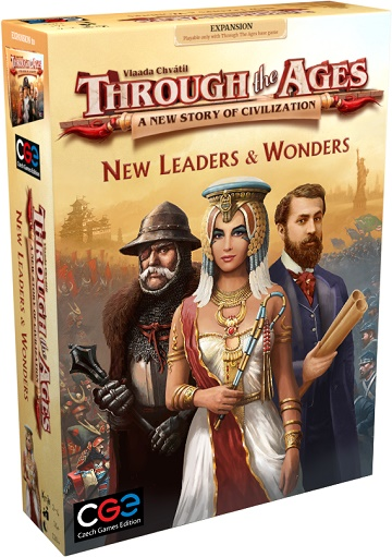 THROUGH THE AGES - A NEW STORY OF CIVILIZATION: Leaders and Wonders Expansion