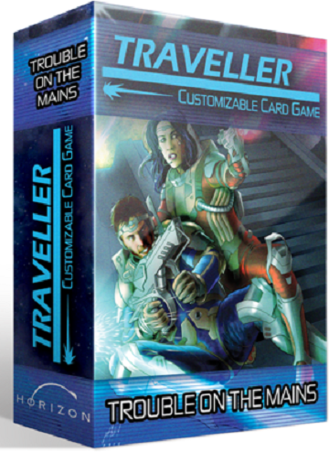 TRAVELLER CCG EXPANSION SIZE TROUBLE ON THE MAINS