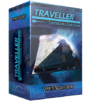 TRAVELLER CCG SHIP DECK TYPE S SCOUT