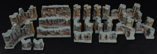 Tablescapes Realms: Caverns and Mines- Wall Set