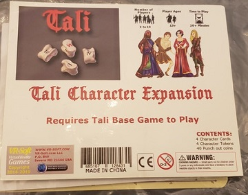 Tali - Character Expansion