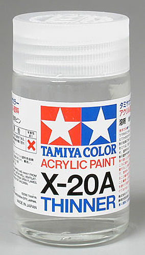 Tamiya Acrylic Paint 46ml: X-20AL Thinner
