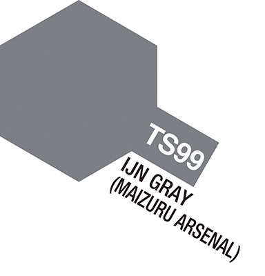Tamiya Spray TS099: IJN Gray