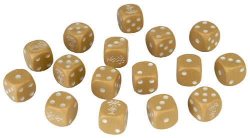 Tanks: Afrika Korps Dice Set