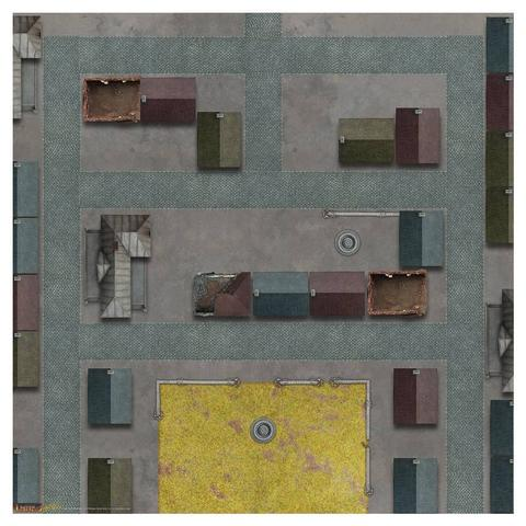 Tanks: Game Mat 36 x 36- Caen
