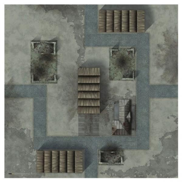Tanks: Game Mat 36 x 36- Minsk