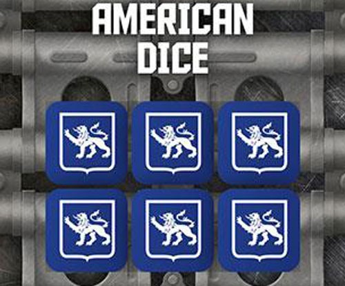Tanks The Modern Age: American Dice Set