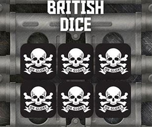 Tanks The Modern Age: British Dice Set