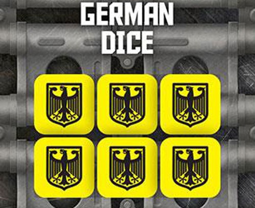 Tanks The Modern Age: German Dice Set