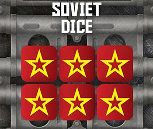 Tanks The Modern Age: Soviet Dice Set