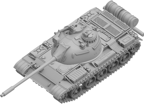 Tanks The Modern Age: Soviet T-55 Tank Expansion