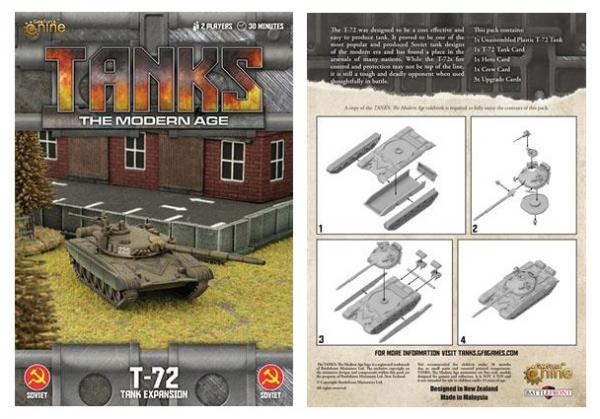 Gale Force Nine - Tanks The Modern Age: Soviet T-72 #GF9