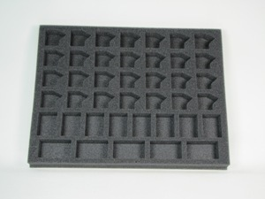 "Battlefoam: WH40K: Tau: Tray: Tau Troop (1.5"" Version)"