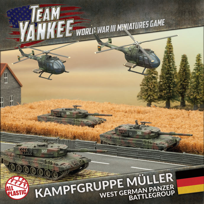 Team Yankee: German: Kampfgruppe Muller [2017 Version]