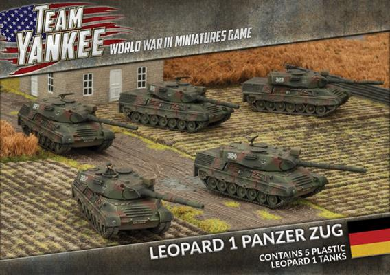 Team Yankee: German: Leopard 1 Panzer Zug