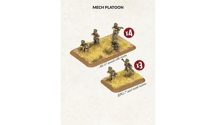 Team Yankee: Oil War- Iraqi: Mech Platoon