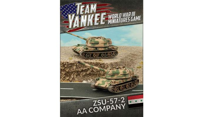 Team Yankee: Oil War- Iraqi: ZSU-57-2 AA Platoon
