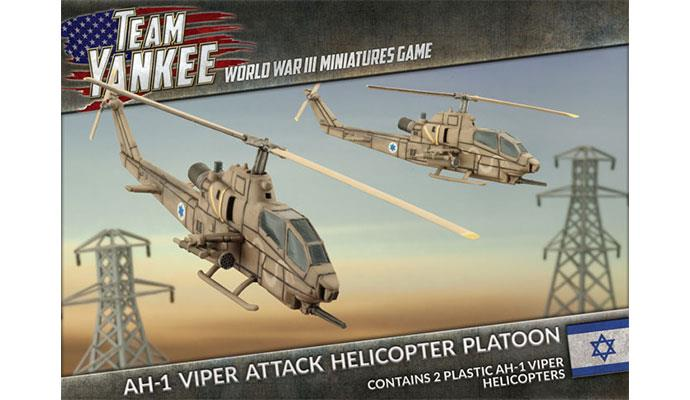 Team Yankee: Oil War- Israel: AH-1 Viper Attack Helicopter Platoon