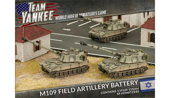 Team Yankee: Oil War- Israel: M109 SP Artillery Battery
