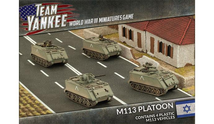 Team Yankee: Oil War- Israel: M113 Platoon