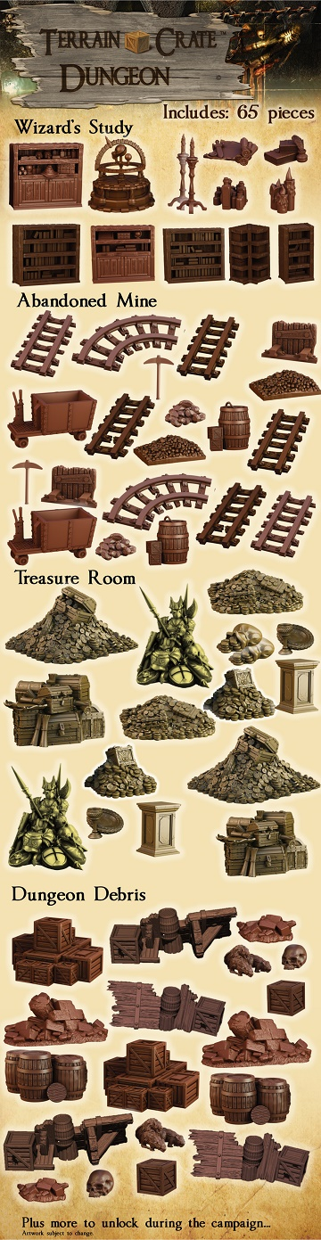 Terrain Crate: Dungeon