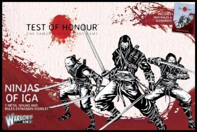 Test of Honour: Ninjas of Iga (Box Set)