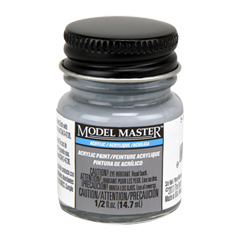 Testors Model Masters Acrylic Paints- 5-H Haze Gray - Semi-Gloss