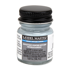 Testors Model Masters Acrylic Paints- 5-L Light Gray - Semi-Gloss